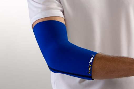 Blue Elbow Compression Sleeve