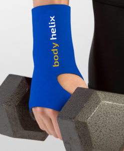 Compression Blue Wrist Wrap