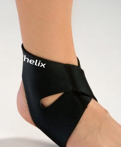 Black Ankle Compression Wrap