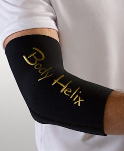 Black Full Elbow Brace by Body Helix