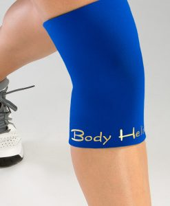 Royal Blue Full Closed Knee Compression Orthopedic Brace by Body Helix