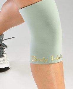 Silver Full Closed Knee Compression Orthopedic Brace by Body Helix