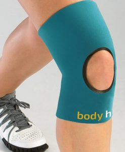Teal Open Knee Compression Sleeve