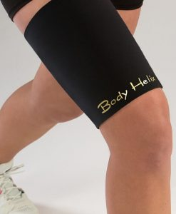 Black Full Thigh Compression Sleeve
